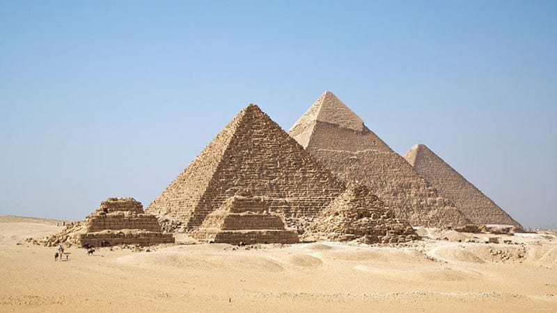 How a satellite's infrared scanner discovered the lost Egyptian pyramids
