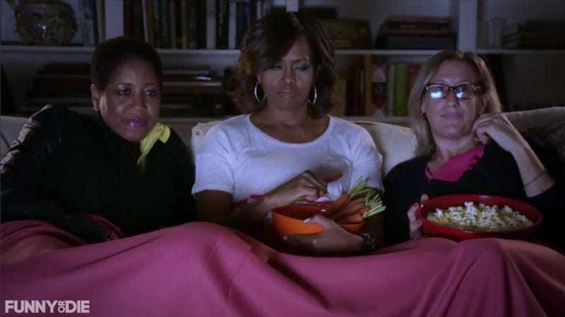 Michelle Obama Pops By Funny or Die to Remind You to Eat Your Veggies