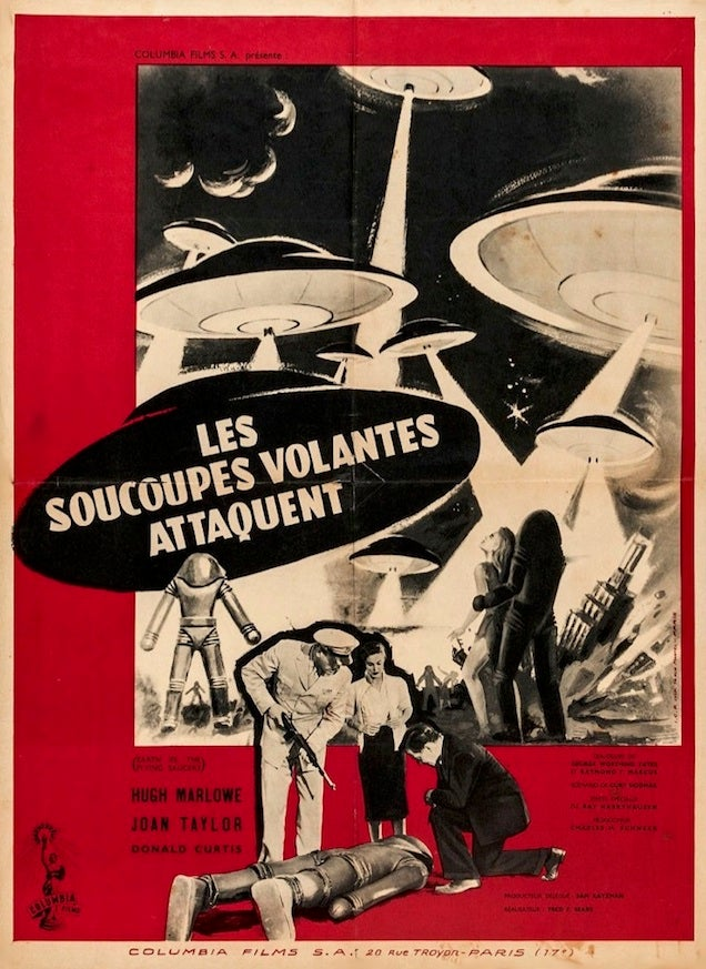 Mind-Bending French Posters For Cult Scifi And Horror Movies
