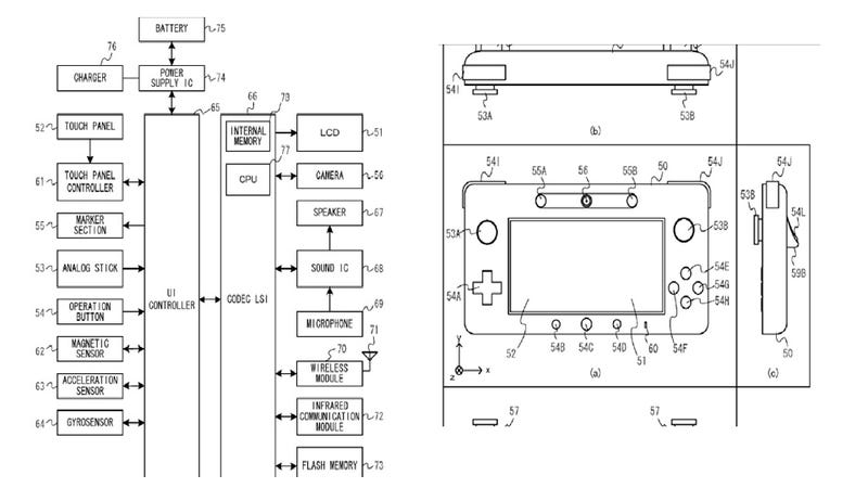 New Wii U Controller Patent Shows Magnetic Sensor and Flash Memory