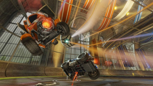 Steam's Latest Hit Is About Cars Playing Soccer