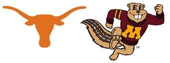 NCAA First Round: (7) Texas vs. (10) Minnesota