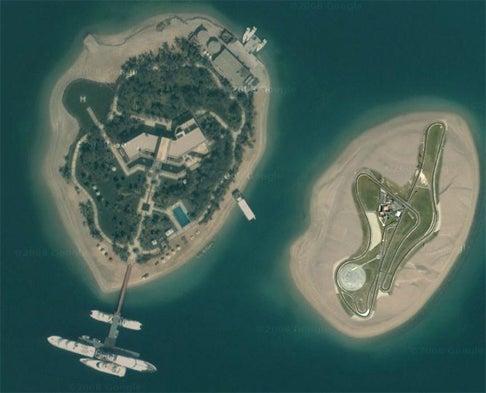 Dubai Prince Gifts Island To Michael Schumacher