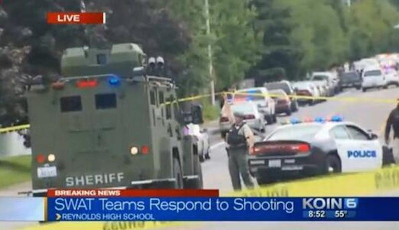 Two Dead After Shooting at Oregon High School