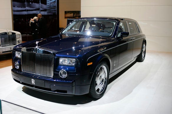 Detroit Auto Show: Scratching That Anglo-Saxon Itch with Rolls-Royce