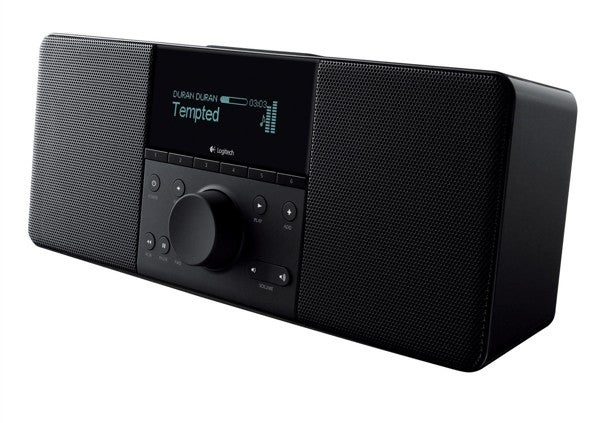 Logitech Squeezebox Boom: A Squeezebox Streamer Attached to Quality Speakers