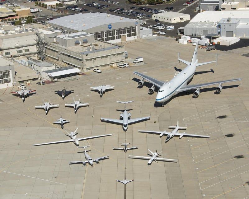 NASA Planes