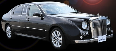 Mitsuoka Galue S50 Limo Is Executive Enchantment On Wheels