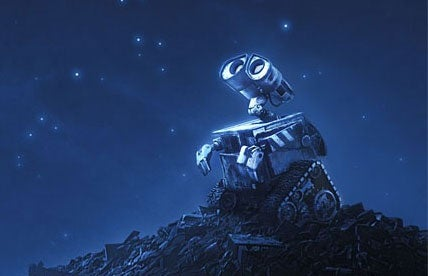 Wall-E Meets Peter Gabriel