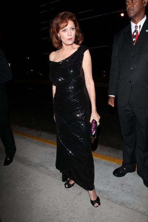 Susan Sarandon's Classic Shimmer And Sparkle