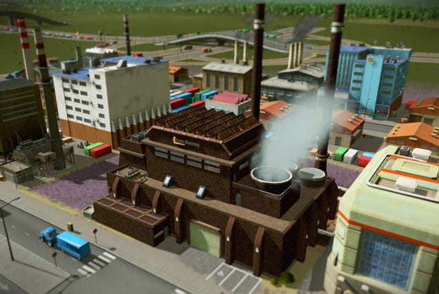 SimCity Artist Now Making Sweet Cities: Skylines Buildings