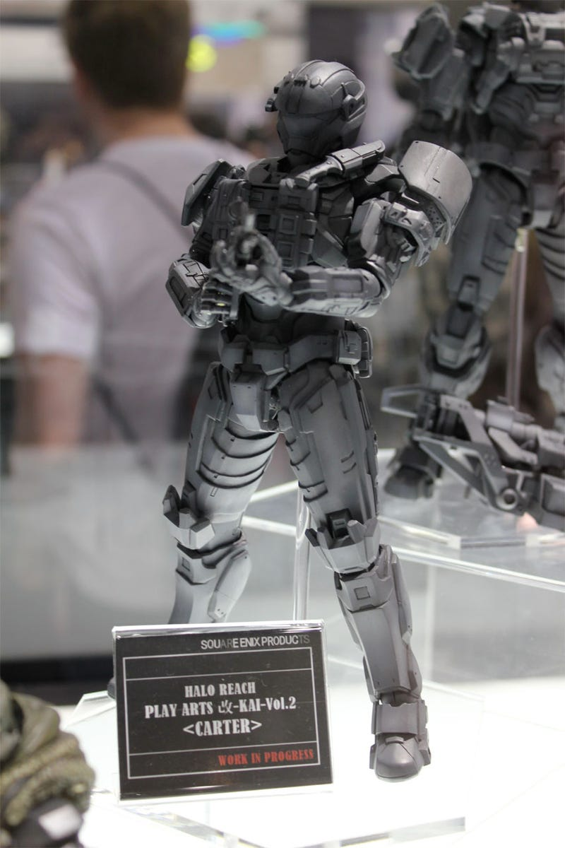 Let's Get A Good Look At Square Enix's Halo: Reach Action Figures