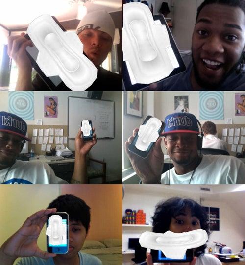 Make Your iPad Look Like A 3D Maxi Pad