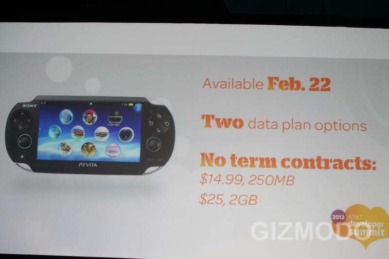 PlayStation Vita's AT&T Data Plan Comes in Two Flavors, No Contracts