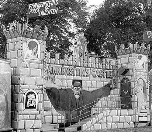 The strange history of the Frankenstein carnival sideshows