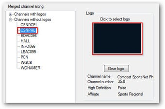 My Channel Logos Adds Network Logos to Windows 7 Media Center