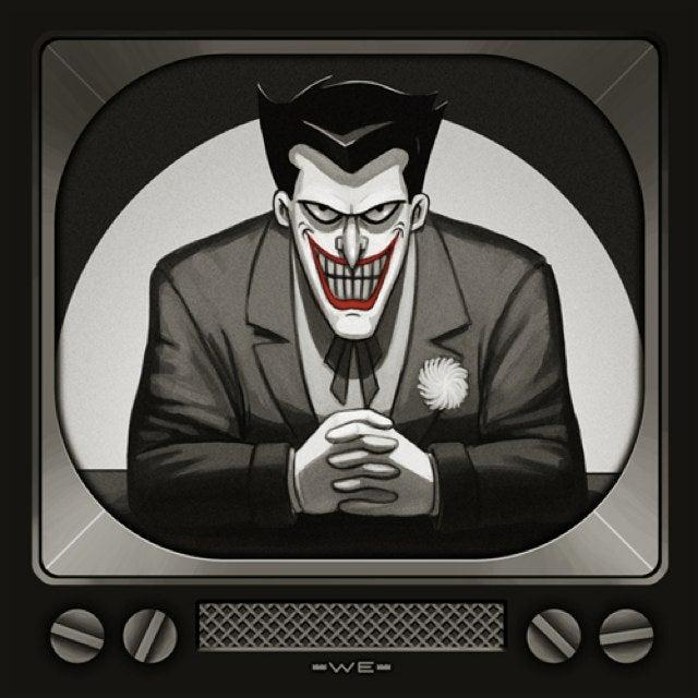 Mondo Reveals Batman: The Animated Series Album Covers!