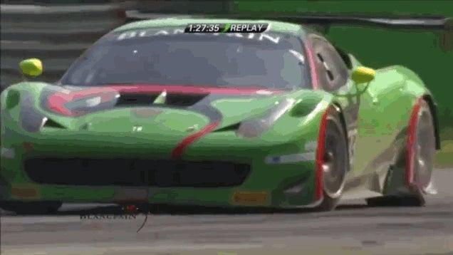 Így kell autóversenyből börleszket csinálni