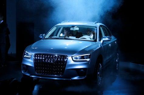 Shanghai Auto Show: Audi Cross Coup Concept Reveal