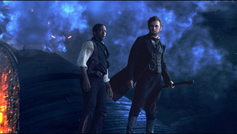 Those who forget history are doomed to have it reenacted by vampires: Abraham Lincoln, Vampire Hunter