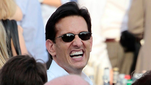 Scaredy Cat Eric Cantor Runs Away from Debt Ceiling Talks
