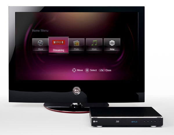 LG BD300 Is First Blu-ray Player With Built-in Netflix Streaming