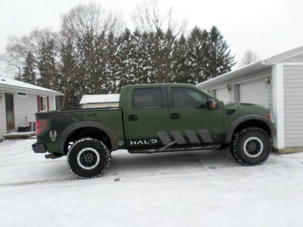 The SVT Raptor From The Halo 4 Launch Giveaway Is On Craigslist... In Cleveland, Somehow