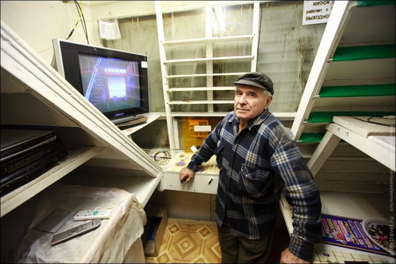 How One Russian Man Is Building His Own Personal Subway System