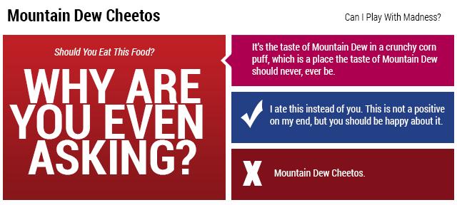 Mountain Dew Cheetos: The Snacktaku Review