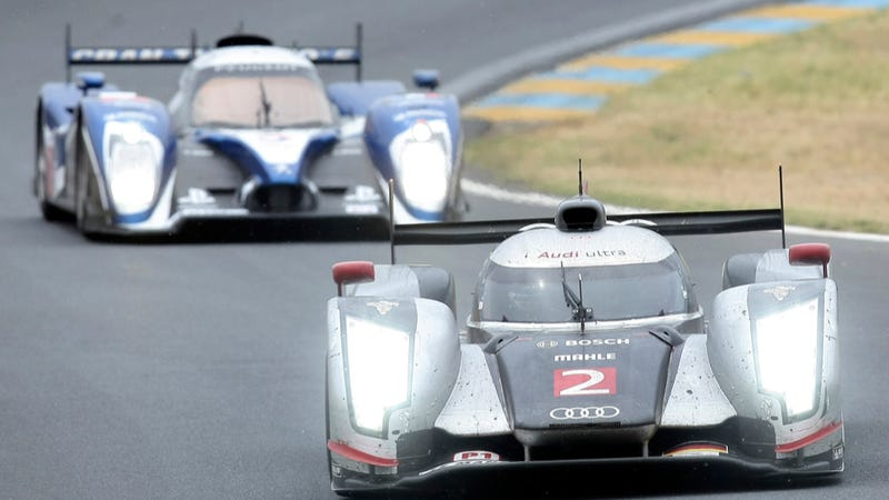 Audi, Corvette win insanely close 2011 24 Hours of Le Mans