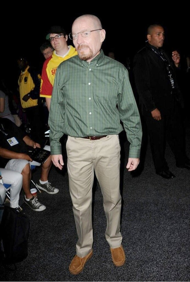 Breaking Bad Lead Actor Cosplayed As His Own Character At Comic-Con