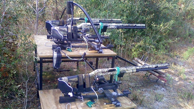 Internet-controlled shotguns are the high-tech, extremely illegal solution to hog infestation