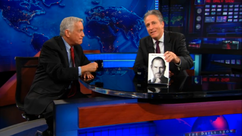 The Daily Show Takes on the Steve Jobs Biography