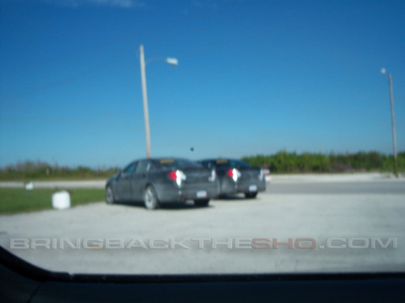 2010 Ford Taurus SHO Caught Without Camo