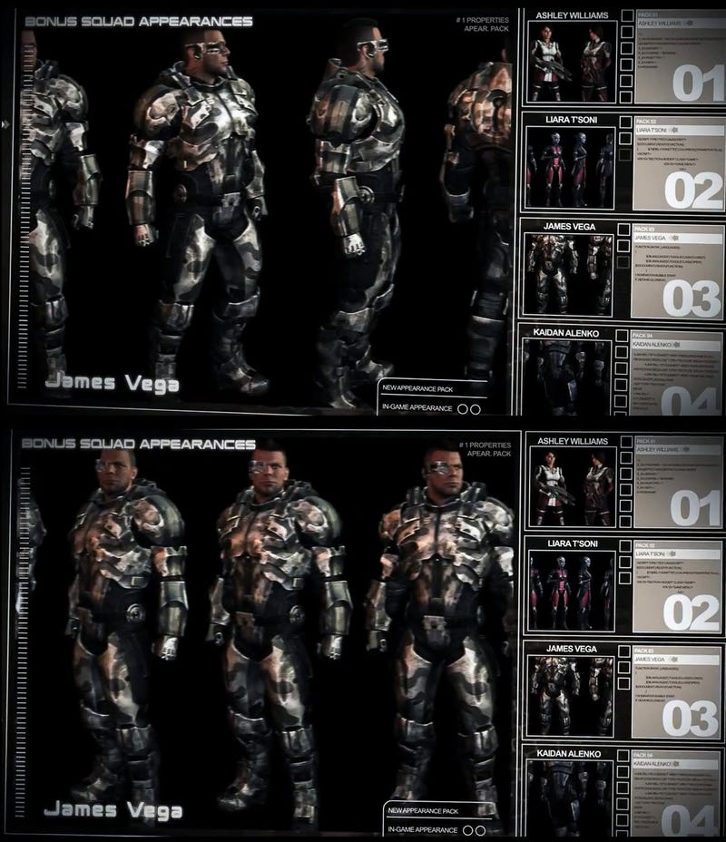 Some Burly Dudes From Mass Effect 3 (and Some Mass Effect Guns)