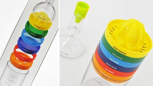 There's an Entire Kitchen's Worth of Cooking Tools In This Bottle