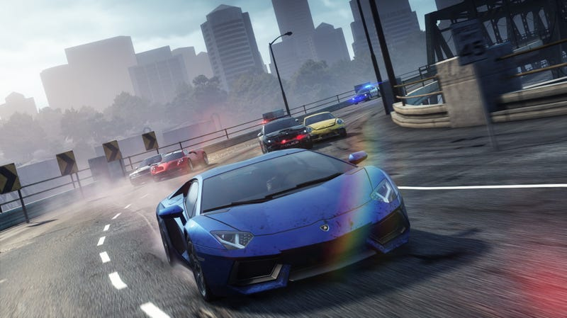 Need For Speed: Most Wanted Lets You Steal The World's Fastest Cars. Kind Of.