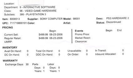 Basically Fact Rumor: Best Buy Ditching 20GB PS3