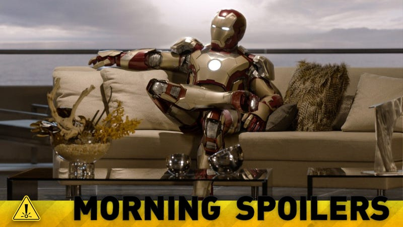 Major Hints About Iron Man 3, Jurassic Park 4, Ninja Turtles and Doctor Who!