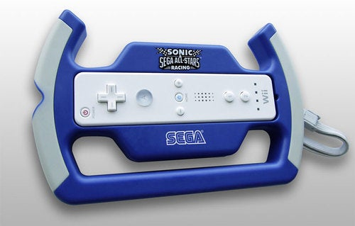 Sonic & Sega All-Stars Racing Gets Its Own Wii Wheel
