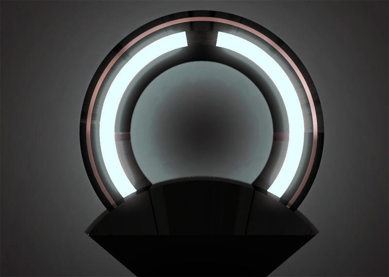 Tron Light Discs As a Lamp