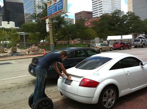 You're Doing It Wrong: Segway Edition