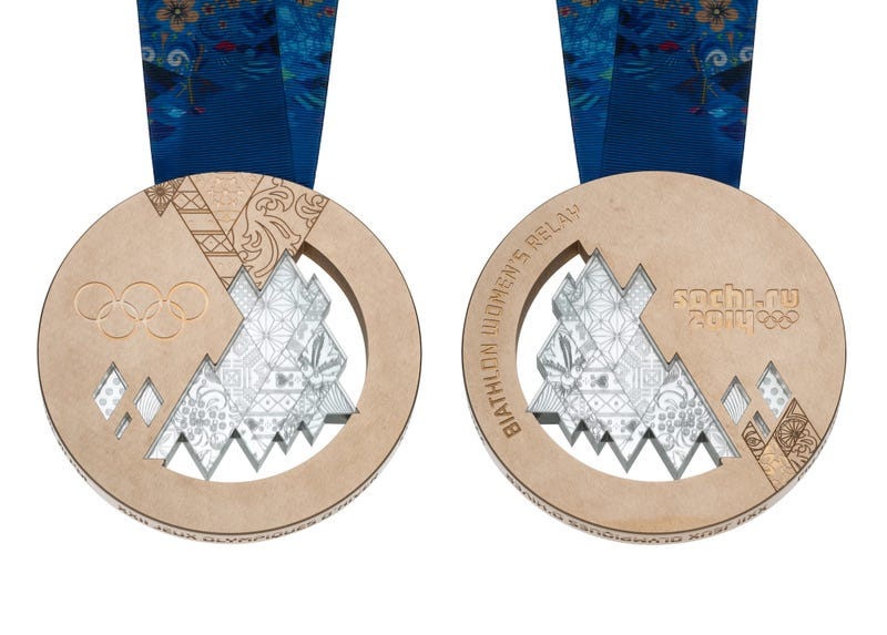 Here Are The 2014 Olympic Medals