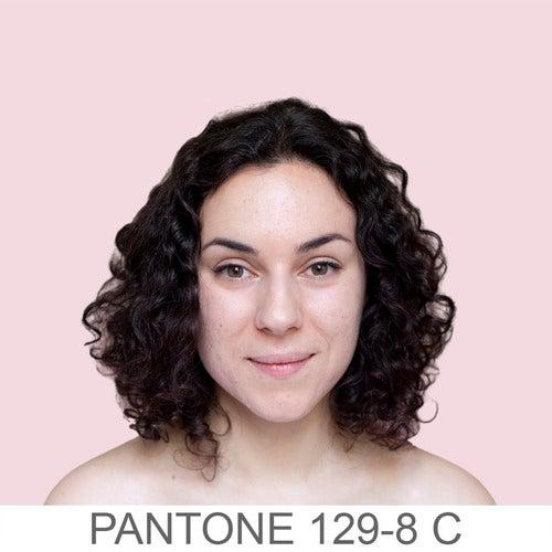 Human skin tones classified as Pantone colors
