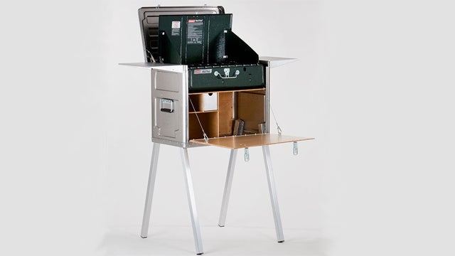 A Camping Kitchen With Everything But the Sink