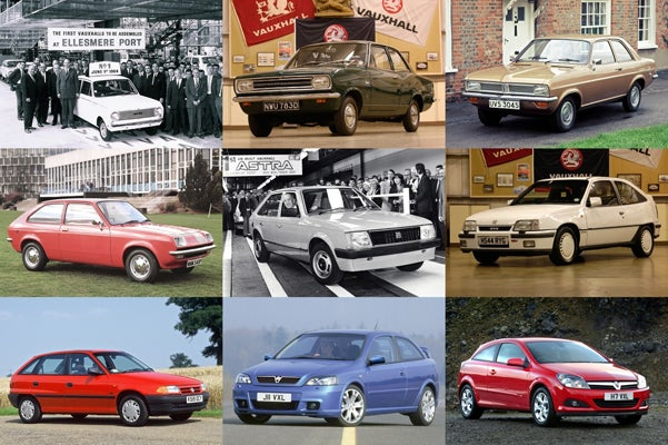 Nine Generations Of Vauxhall Small Cars: From Viva To Chevette To Astra