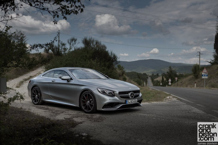 Mercedes S-Class and S 63 AMG Coupe. DRIVEN