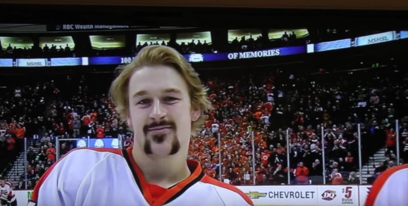 MN H.S.: And Now, The Best Minnesota High School Hockey Hair (video)