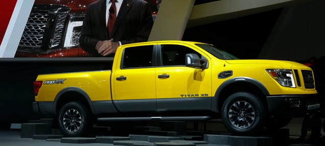 2016 Nissan Titan Diesel 2016 nissan titan: this is it