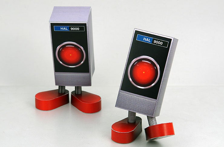 HAL 9000 Papercraft Will, At Some Point, Cut You